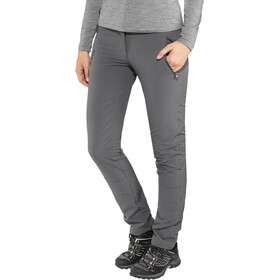 Maier Sports Helga Slim Pantalon Stretch Femme, graphite